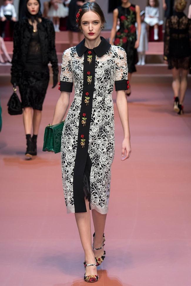 MILAN FASHION WEEK Dolce & Gabbana Fall 2015. www.imageamplified.com, Image Amplified (13)