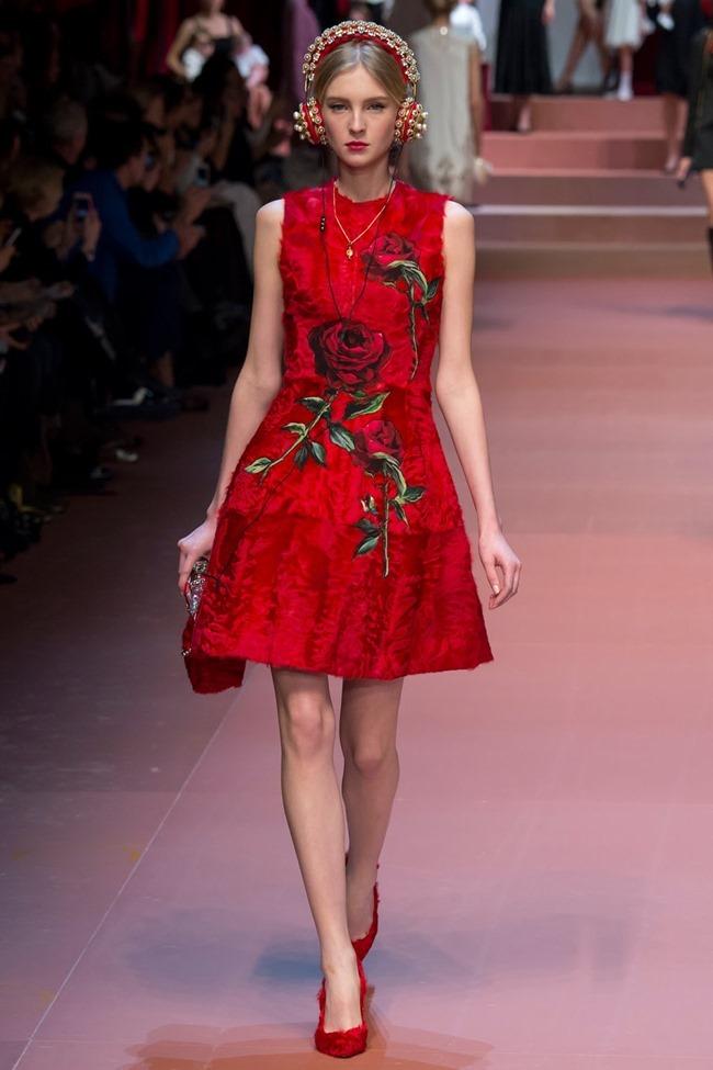 MILAN FASHION WEEK Dolce & Gabbana Fall 2015. www.imageamplified.com, Image Amplified (20)