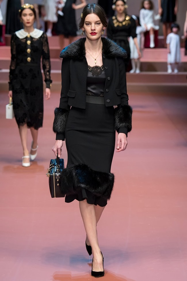 MILAN FASHION WEEK Dolce & Gabbana Fall 2015. www.imageamplified.com, Image Amplified (34)