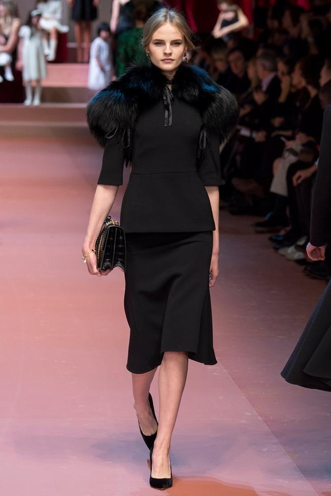 MILAN FASHION WEEK Dolce & Gabbana Fall 2015. www.imageamplified.com, Image Amplified (51)