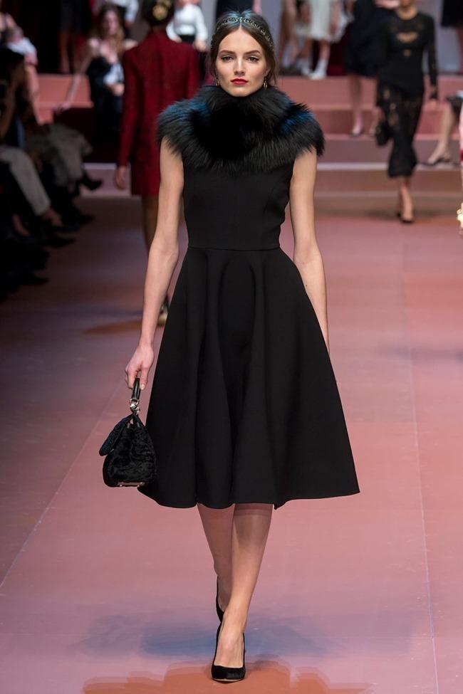 MILAN FASHION WEEK Dolce & Gabbana Fall 2015. www.imageamplified.com, Image Amplified (53)