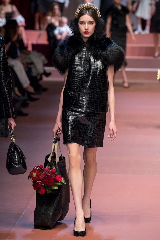 MILAN FASHION WEEK Dolce & Gabbana Fall 2015. www.imageamplified.com, Image Amplified (58)