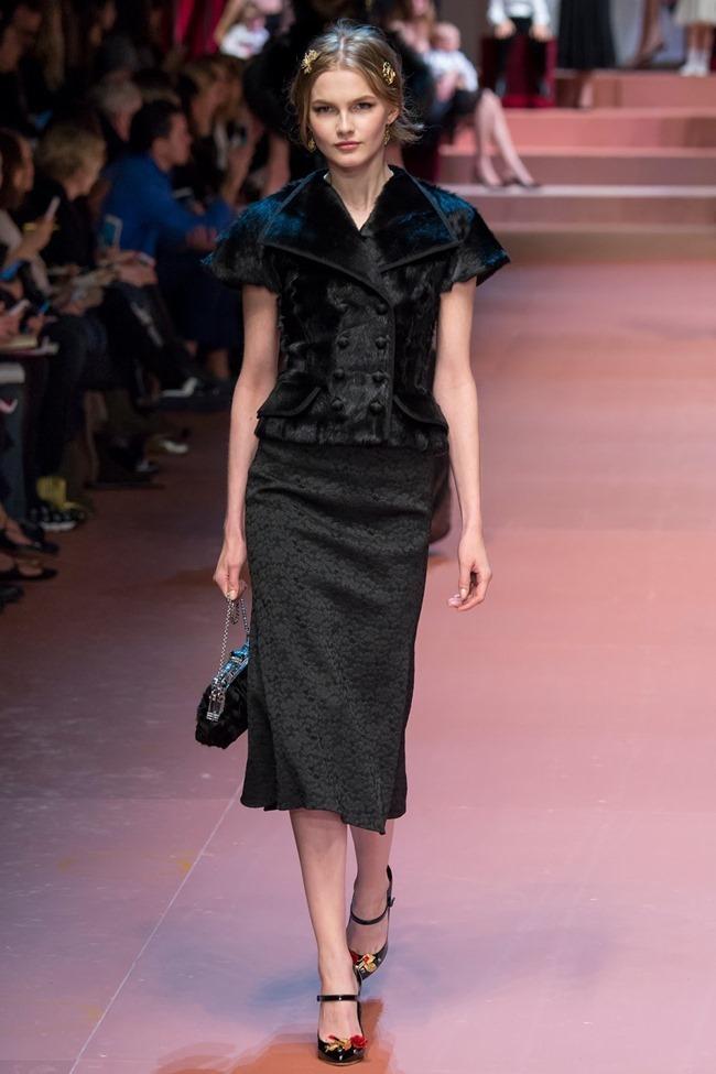 MILAN FASHION WEEK Dolce & Gabbana Fall 2015. www.imageamplified.com, Image Amplified (60)