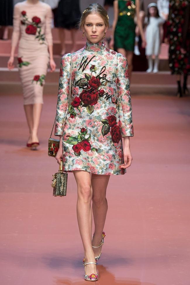 MILAN FASHION WEEK Dolce & Gabbana Fall 2015. www.imageamplified.com, Image Amplified (65)