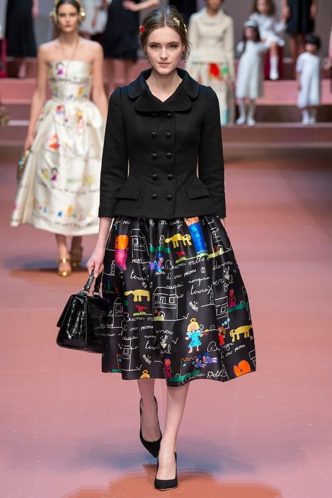 MILAN FASHION WEEK Dolce & Gabbana Fall 2015. www.imageamplified.com, Image Amplified (84)