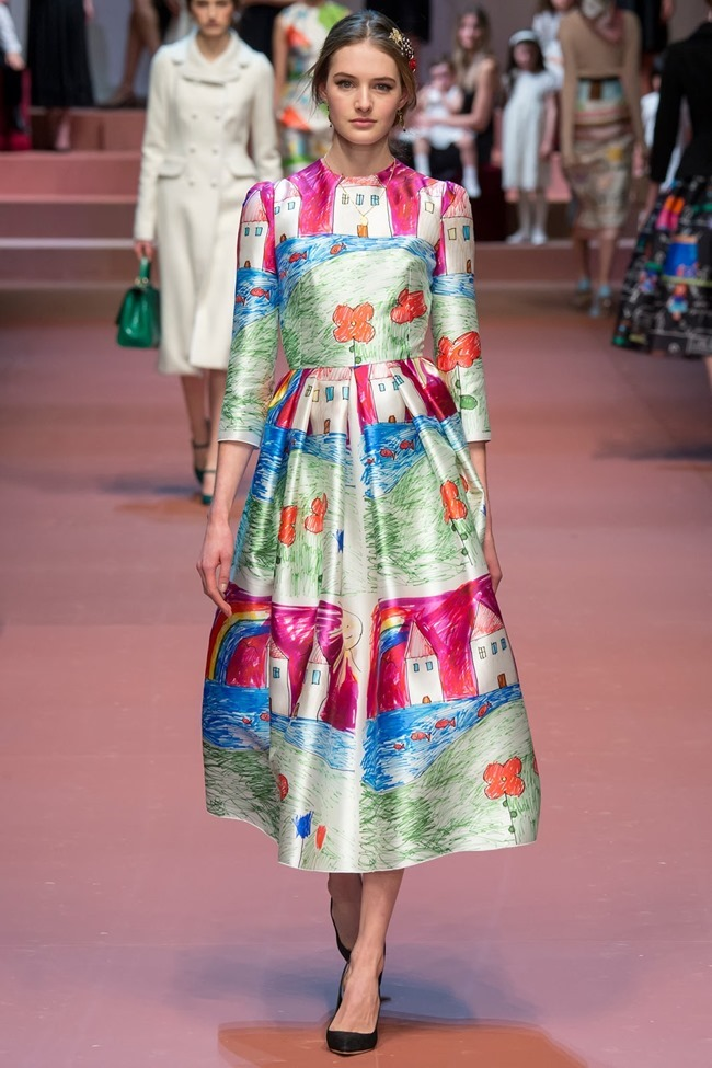 MILAN FASHION WEEK Dolce & Gabbana Fall 2015. www.imageamplified.com, Image Amplified (87)