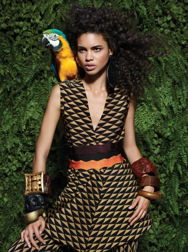 VOGUE BRAZIL Mariana Santana by Ingela Klemetz Farago & Peter Farago. Pedro Sales, March 2015, www.imageamplified.com, Image Amplified (1)