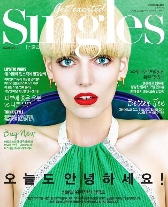 SINGLES KOREA Zuzanna Bijoch by Hong Jang Hyun. Michela Buratti, March 2015, www.imageamplified.com, Image Amplified (1)