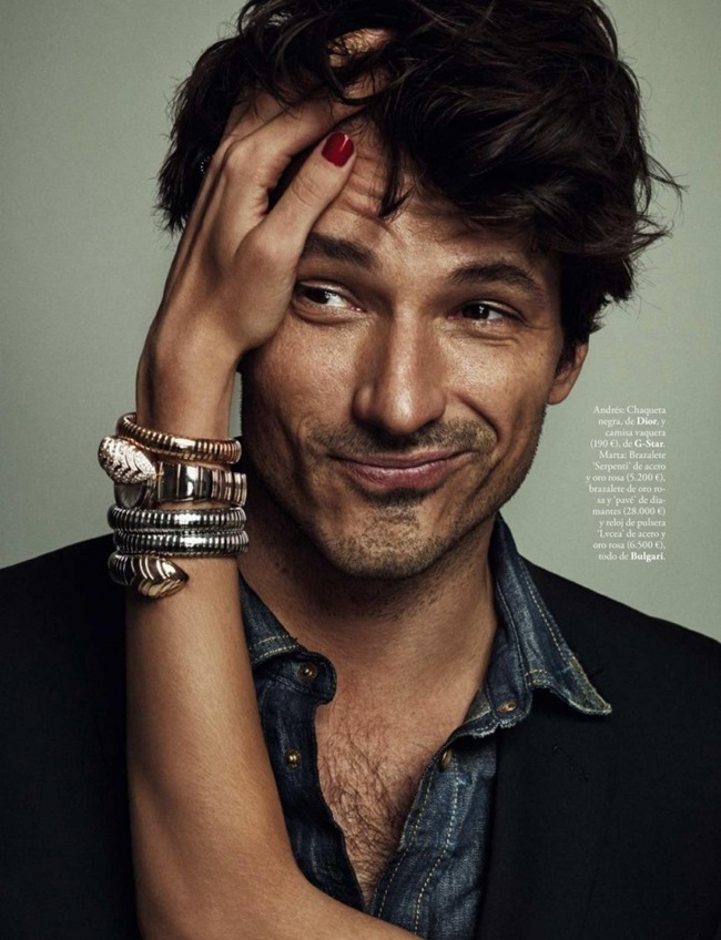 ELLE SPAIN Andres Velencoso & Marta Espanol by Xavi Gordo. April 2015, www.imageamplified.com, Image Amplified (10)