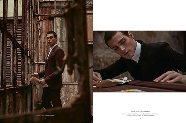L'OFFICIEL HOMMES SUISSE Richard Deiss by Fabrizio Scarpa. Alba Melendo, Spring 2015, www.imageamplified.com, Image Amplified (5)