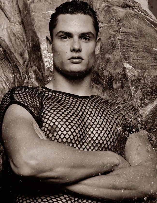 NUMERO HOMME Florent Manaudou by Karl Lagerfeld. Spring 2015, www.imageamplified.com, Image Amplified (6)
