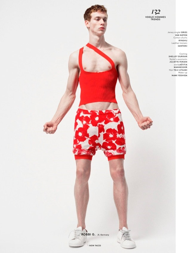 VOGUE HOMMES New Faces by Brett Lloyd. Ylias Nacer, Spring 2015, www.imageamplified.com, Image Amplified (12)
