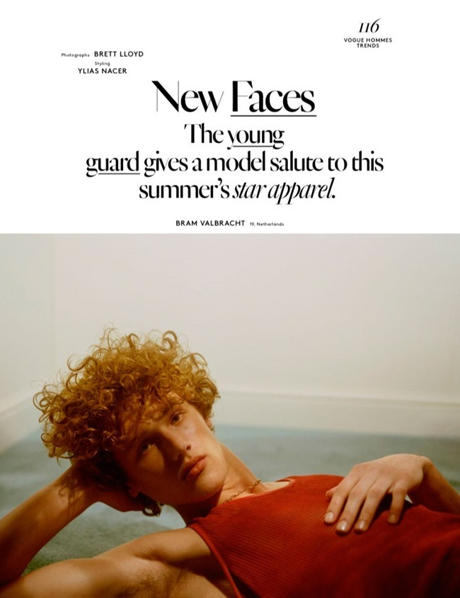 VOGUE HOMMES New Faces by Brett Lloyd. Ylias Nacer, Spring 2015, www.imageamplified.com, Image Amplified (1)