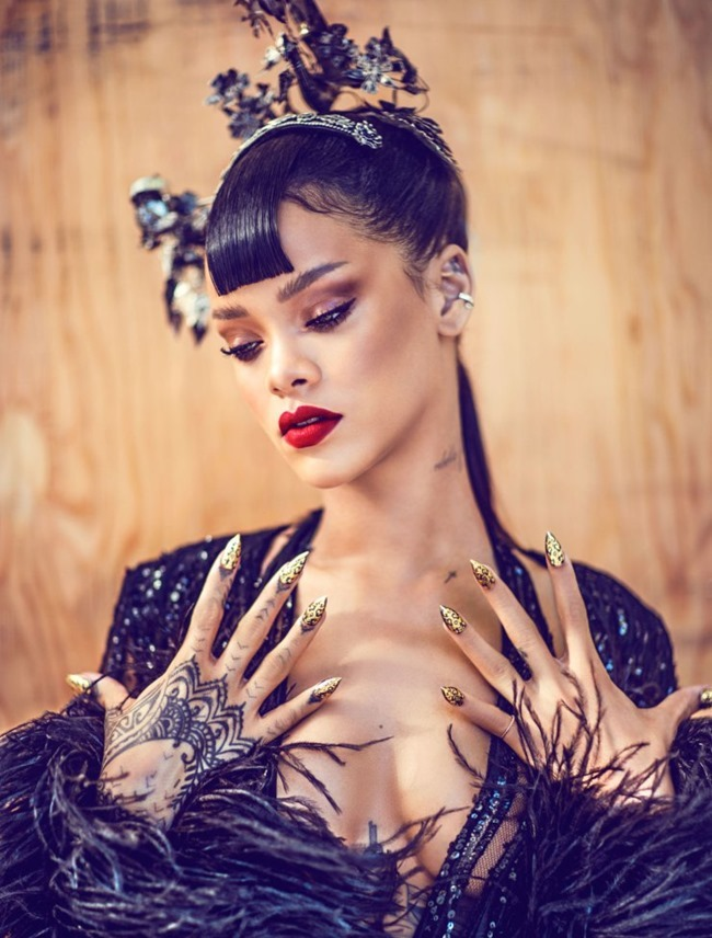 HARPER'S BAZAAR CHINA Rihanna by Chen Man. April 2015, www.imageamplified.com, Image Amplified (5)