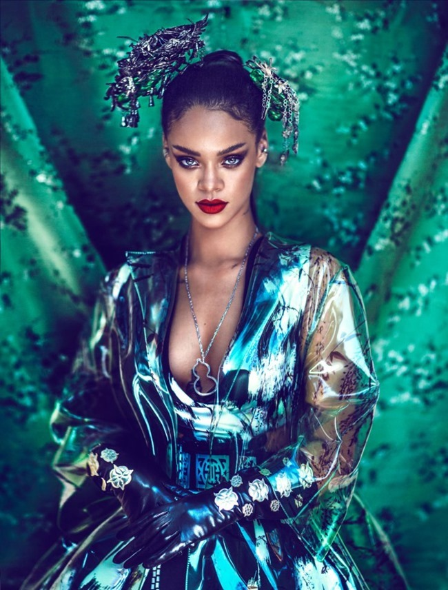 HARPER'S BAZAAR CHINA Rihanna by Chen Man. April 2015, www.imageamplified.com, Image Amplified (6)