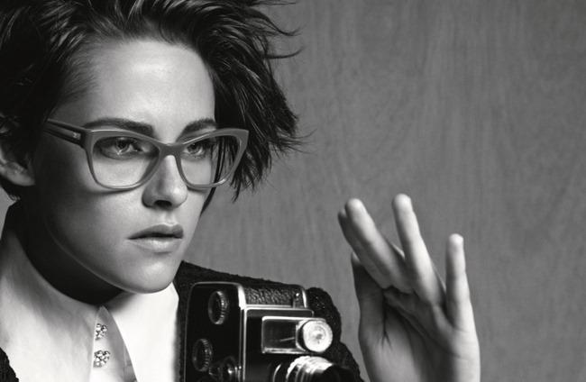 CAMPAIGN Kristen Stewart for Chanel Eyewear Spring 2015 by Karl Lagerfeld. www.imageamplified.com, Image Amplified (3)