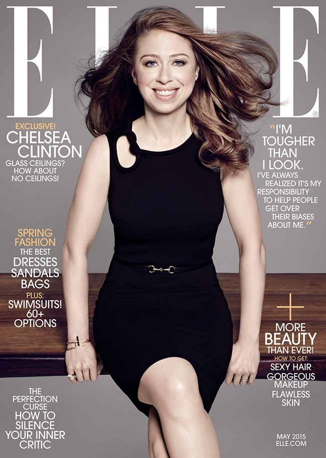 ELLE MAGAZINE Chelsea Clinton by Paola Kudacki. May 2015, www.imageamplified.com, Image Amplified (2)