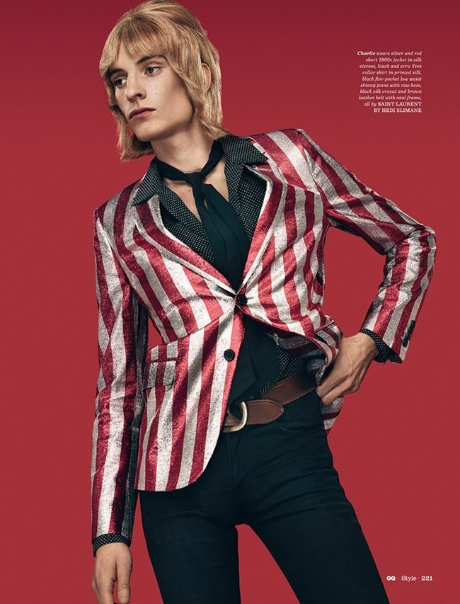 GQ STYLE UK Le Freak Cest Chic by Thomas Cooksey. Jo Levin, Spring 2015, www.imageamplified.com, IMage Amplified (2)