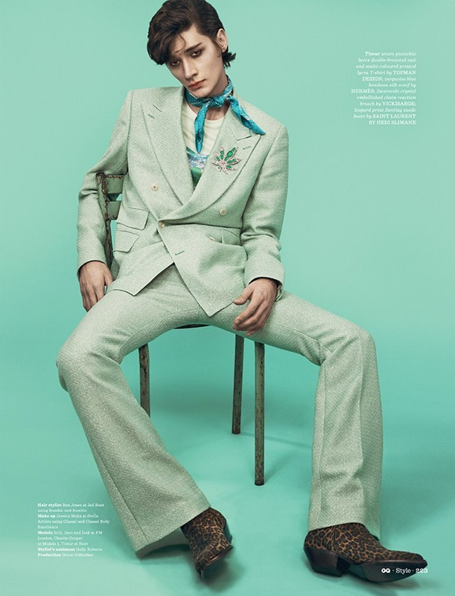 GQ STYLE UK Le Freak Cest Chic by Thomas Cooksey. Jo Levin, Spring 2015, www.imageamplified.com, IMage Amplified (5)