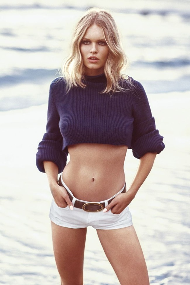 HARPER'S BAZAAR Anna Ewers by Norman  Jean Roy. George Cortina, May 2015, www.imageamplified.com, Image Amplified (3)