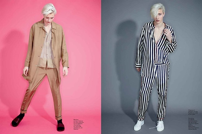 L'OFFICIEL HOMMES Lucky Blue Smith by Andrew hail. Helena Tejedor, Spring 2015, www.imageamplified.com, Image Amplified (12)