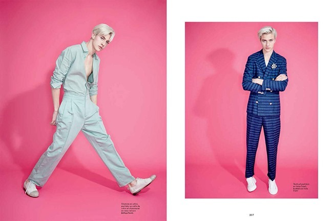 L'OFFICIEL HOMMES Lucky Blue Smith by Andrew hail. Helena Tejedor, Spring 2015, www.imageamplified.com, Image Amplified (3)