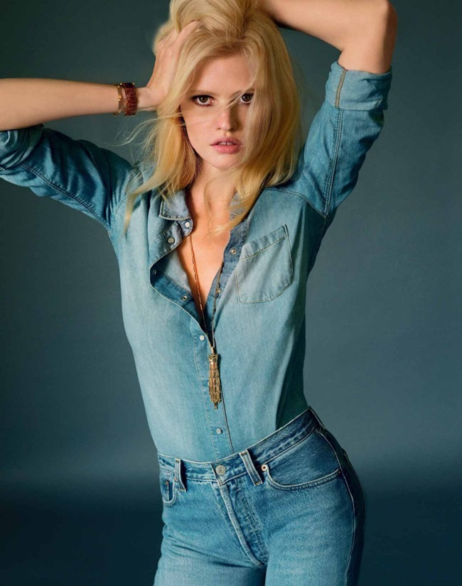 MARIE CLAIRE FRANCE Lara Stone by Elina Kechicheva. Anne-Sophie Thomas, May 2015, www.imageamplified.com, Image amplified (14)