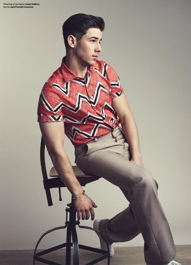 TETU MAGAZINE Nick Jonas by Arthur Delloye. April 2015, www.imageamplified.com, Image Amplified (2)