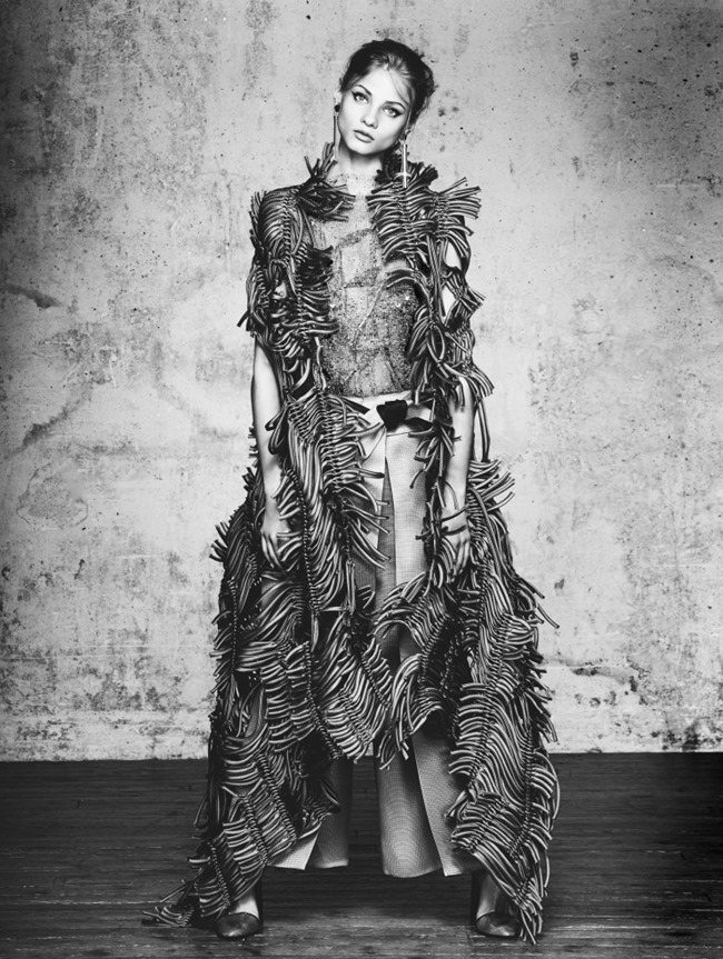 VOGUE CHINA COLLECTIONS Anna Selezneva by David Bellemere. Belen Casadevall, April 2015, www.imageamplified.com, Image Amplified (7)