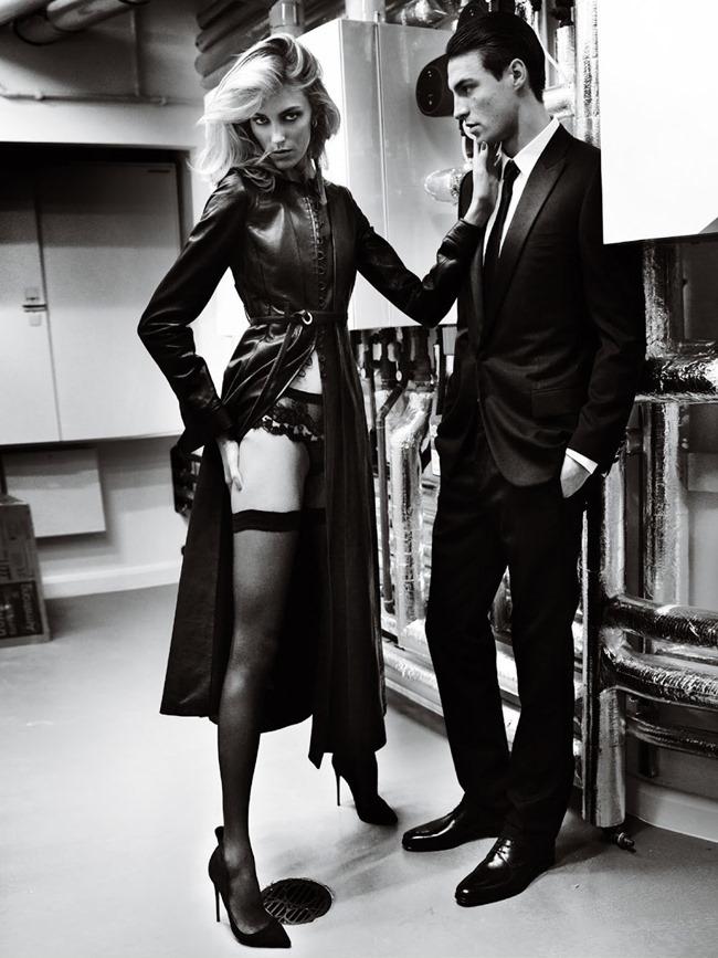 VOGUE PARIS Anja Rubik & Nikolai Danielsen by Mario Testino. Emmanuelle Alt, April 2015, www.imageamplified.com, Image Amplified (3)