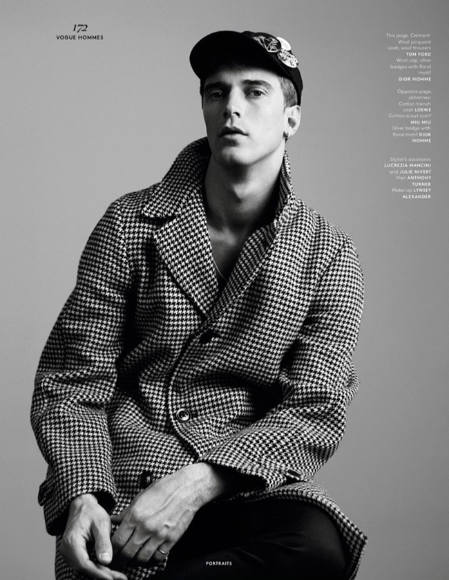 VOGUE HOMMES MAGAZINE Collections by Willy Vanderperre. Olivier Rizzo, Spring 2015, www.imageamplified.com, Image Amplified (12)