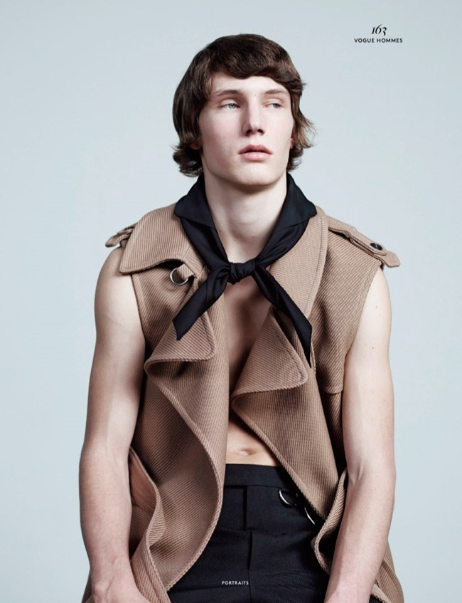 VOGUE HOMMES MAGAZINE Collections by Willy Vanderperre. Olivier Rizzo, Spring 2015, www.imageamplified.com, Image Amplified (3)