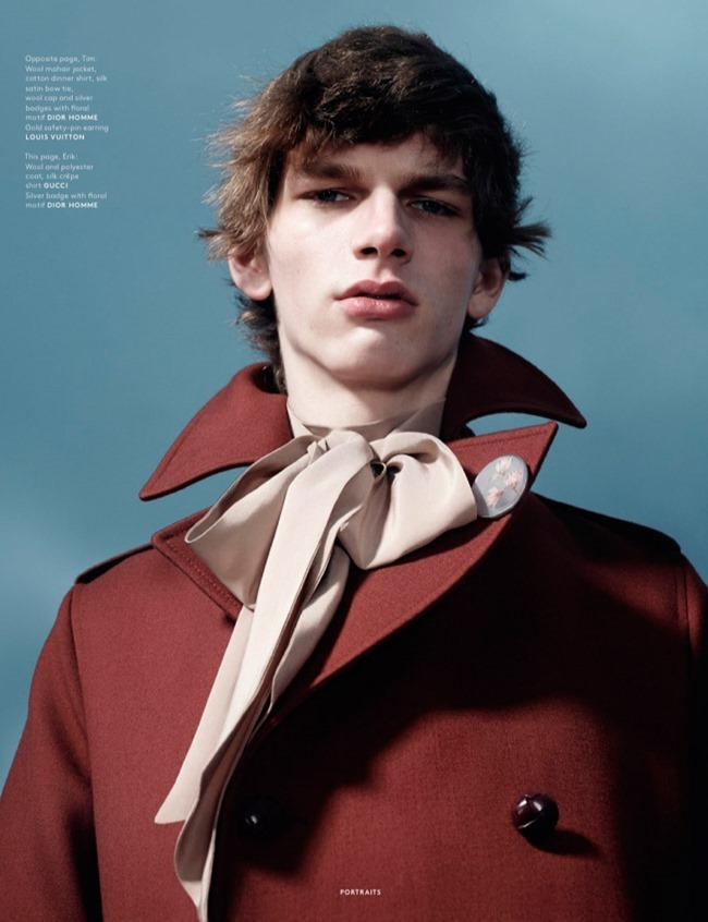 VOGUE HOMMES MAGAZINE Collections by Willy Vanderperre. Olivier Rizzo, Spring 2015, www.imageamplified.com, Image Amplified (5)