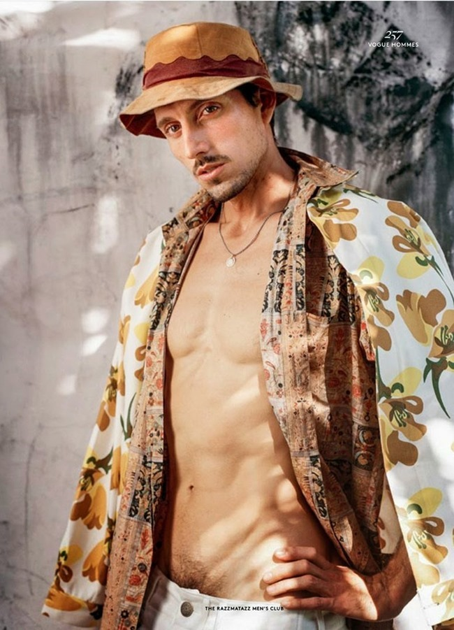VOGUE HOMMES INTERNATIONAL The Razzmatazz Mens Club by Bruce Weber. Deborah Watson, Spring 2015, www.imageamplified.com, Image amplified (9)