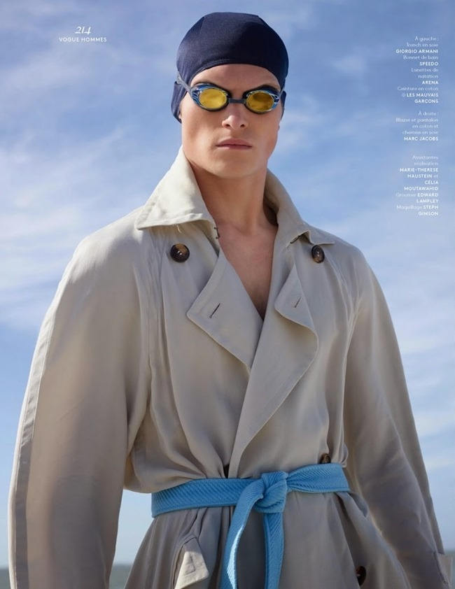VOGUE HOMMES INTERNATIONAL John Todd by Jack Plerson. Anastasia Barbieri, Spring 2015, www.imageamplified.com, Image Amplified (1)