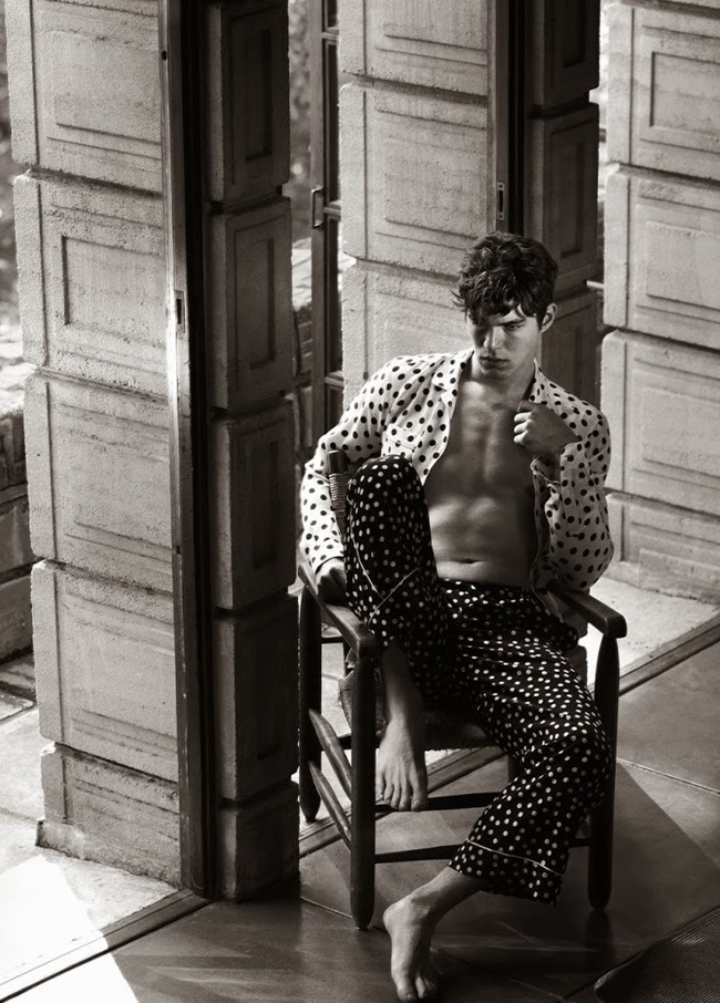 VOGUE HOMMES INTERNATIONAL Bertold Zahoran by Mark Segal. Robble Spencer, Spring 2015, www.imageamplified.comm, Image Amplified (3)
