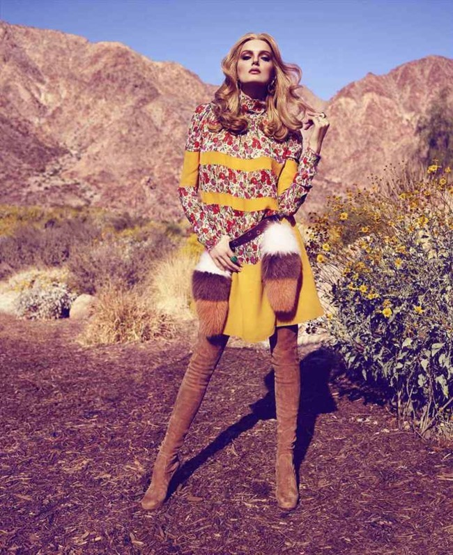 HARPER'S BAZAAR MAGAZINE Lily Donaldson by Miguel Reveriego. Joanna Hillman, May 2015, www.imageamplified.com, Image Amplified (7)