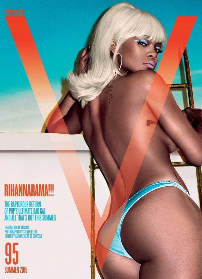 V MAGAZINE Rihanna by Steven Klein. Carlyne Cerf de Dudzeele, Summer 2015, www.imageamplified.com, Image Amplified (2)