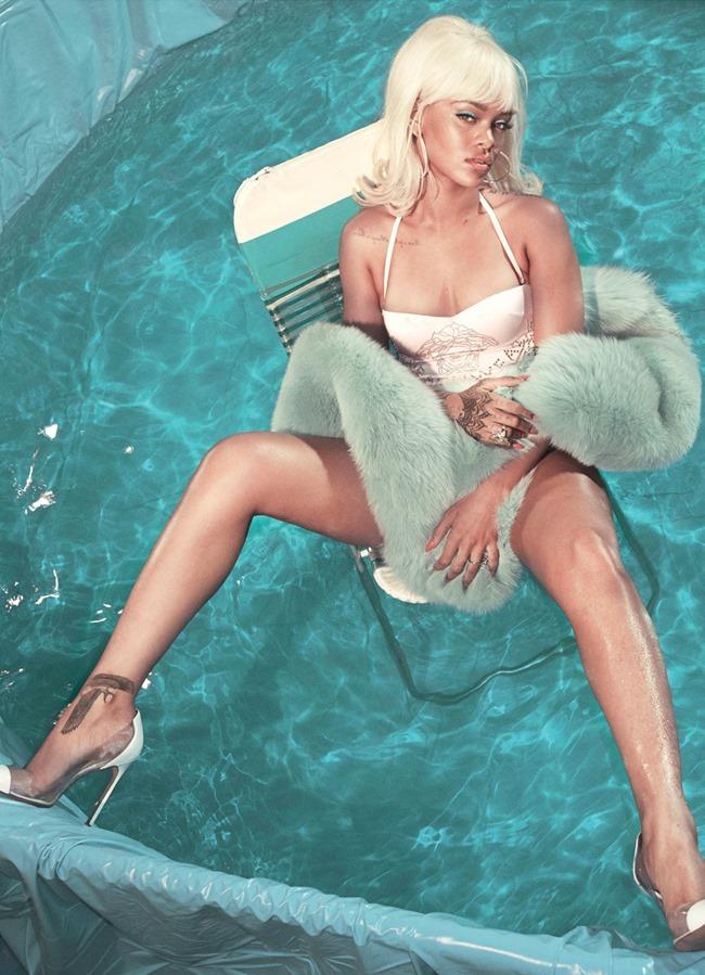 V MAGAZINE Rihanna by Steven Klein. Carlyne Cerf de Dudzeele, Summer 2015, www.imageamplified.com, Image Amplified (5)