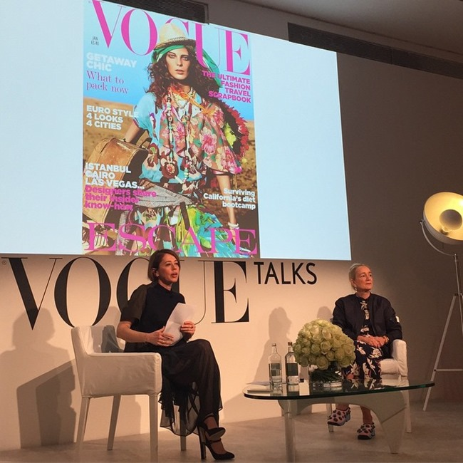 EVENT COVERAGE That's Fashion with Lucinda Chambers at the Vogue Festival 2015 by Troy Wise & Rick Guzman. Spring 2015, www.imageamplified.com, Image Amplified (6)