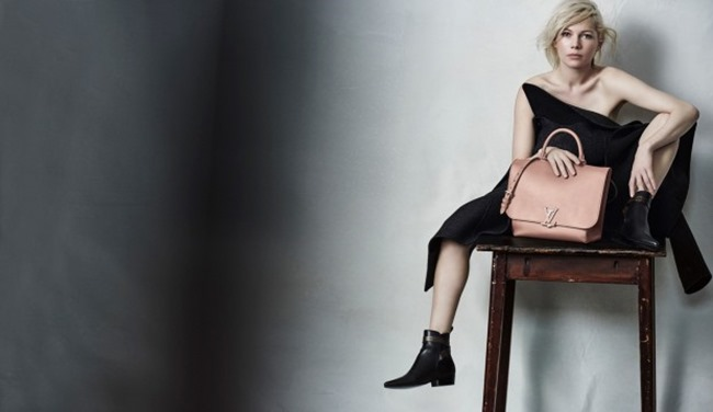CAMPAIGN Michelle Williams for Louis Vuitton by Peter Lindbergh. Spring 2015, www.imageamplified.com, Image Amplified (11)