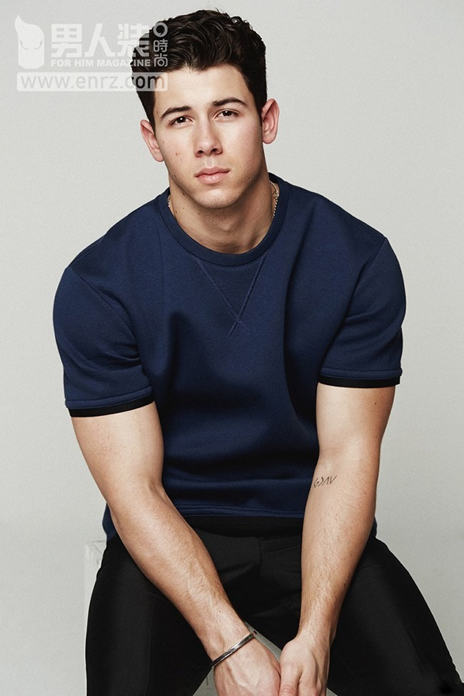 FEATURED MODEL Nick Jonas for FHM China, Spring 2015, www.imageamplified.com, Image Amplified (6)