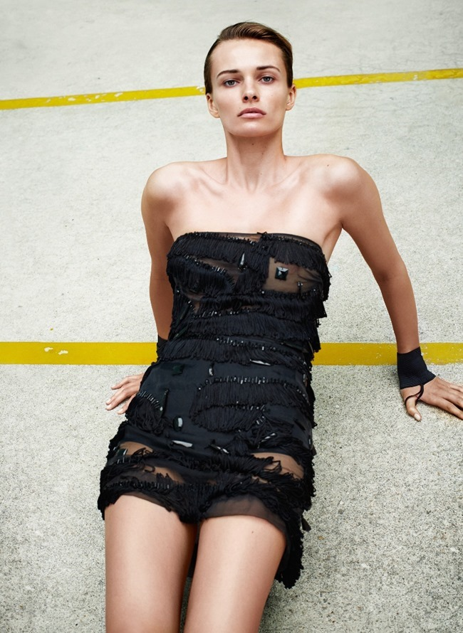 FLAIR MAGAZINE Edita Vilkeviciute by Collier Schorr. Sissy Vian, May 2015, www.imageamplified.com, Image Amplified (5)
