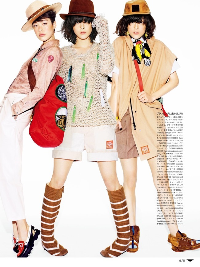 VOGUE JAPAN Mae Lapres & Kouka Webb by Matt Irwin. Aurora Sansone, June 2015, www.imageamplified.com, Image Amplified (2)