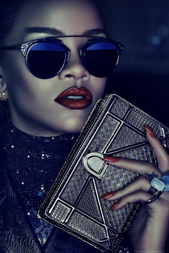 CAMPAIGN Rihanna for Dior Secret Garden 2015 by Steven Klein.  www.imageamplified.com, IMage amplified