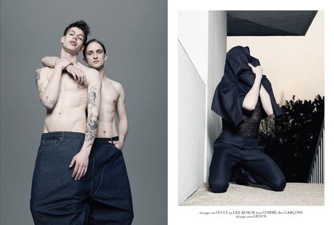 032C MAGAZINE Marko Brozic && Egon Van Praet by Pierre Debusschere. Lotta Volkova, Spring 2015, www.imageamplified.com, Image Amplified (12)