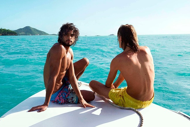 CAMPAIGN Marlon Teixeira & Ton Heukels for H&M Beachwear 2015. www.imageamplified.com, Image Amplified (8)