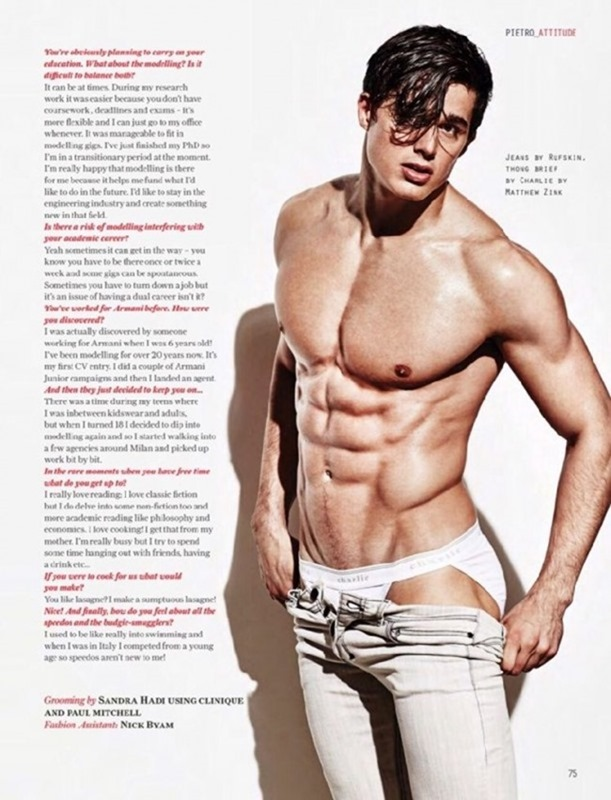 MASCULINE DOSAGE Pietro Boselli in Hot For Teacher for Attitude UK, June 2015. www.imageamplified.com, Image Amplified (3)