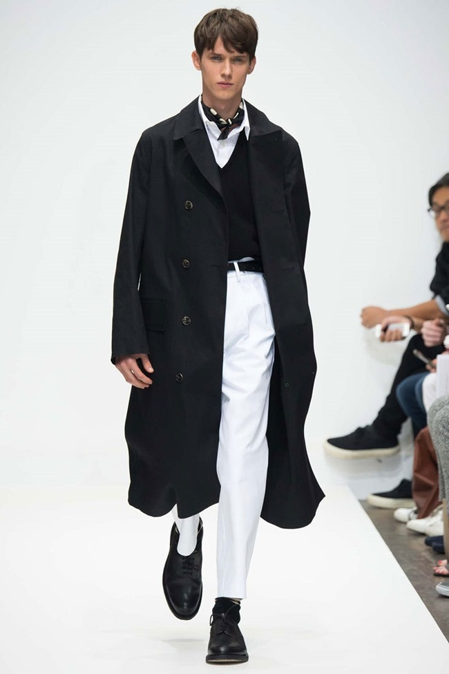 LONDON COLLECTIONS MEN Margaret Howell Spring 2016. LCM, www.imageamplified.com, Image Amplified (1)