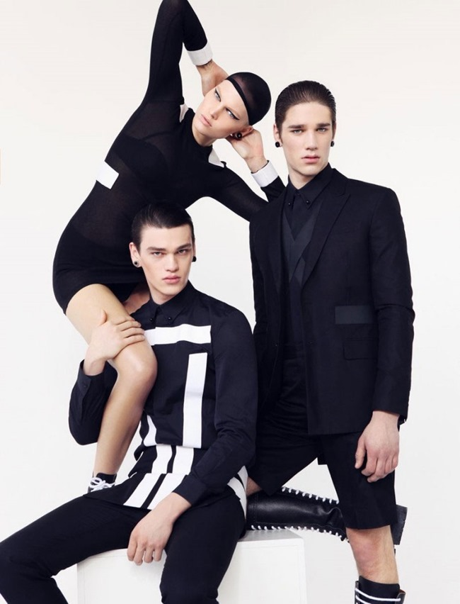OUT MAGAZINE Givenchy by Lukas Kimlicka. Dominika Svetikova, Summer 2015, www.imageamplified.com, Image Amplified (1)
